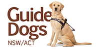 guide dogs nsw supported by small paws